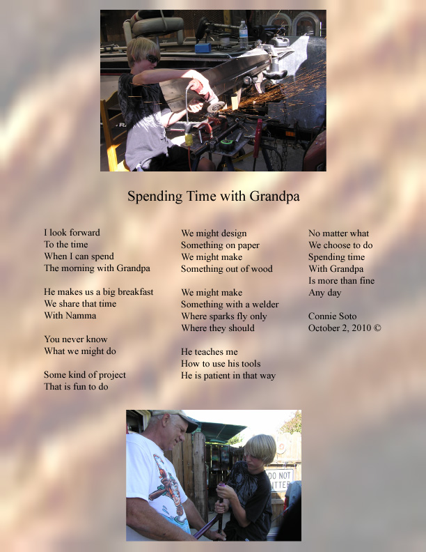 spending time with grandparents essay Grandparents who spend regular time with their grandchildren below are some tips for service providers to assist grandparent who spend regular time papers no 1.